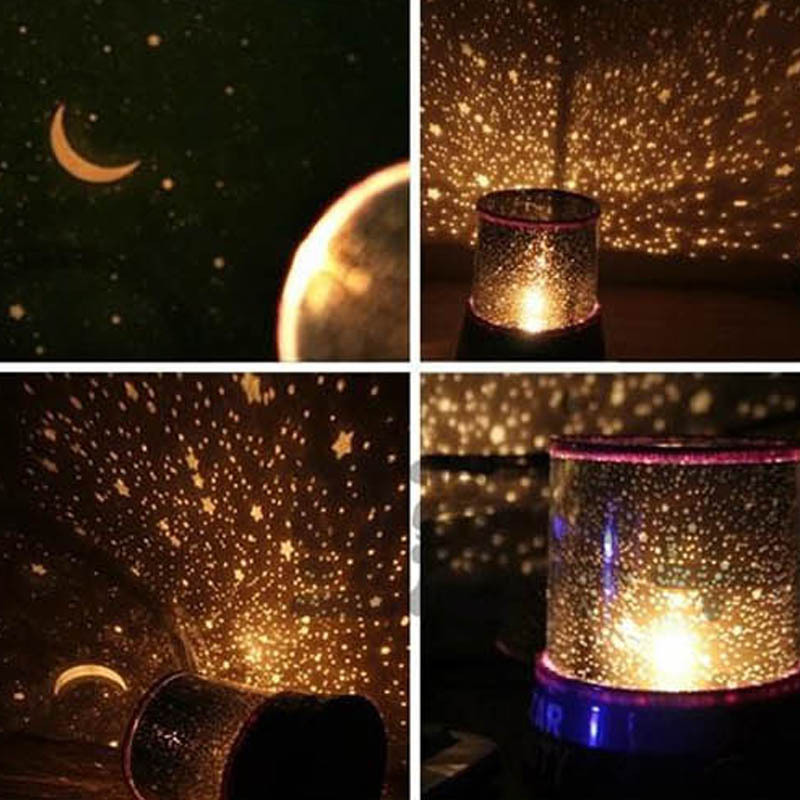 Star And Sky Projector Night Light