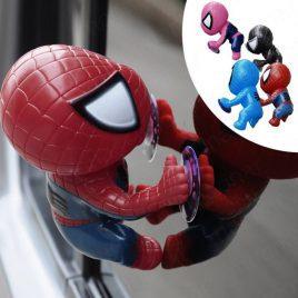 Climbing Spiderman Window Sucker