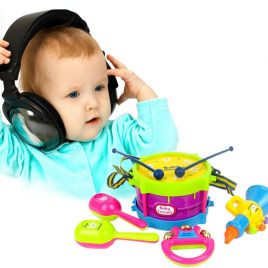 Educational Baby Musical Instruments Band Kit