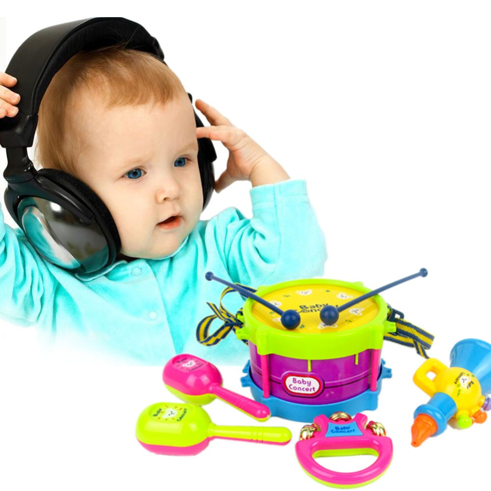 Benefits Musical Toys : Educational baby musical instruments band kit kidsbaron