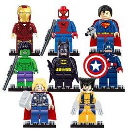 Marvel Avengers Super Hero Minifigures Set – 8pcs