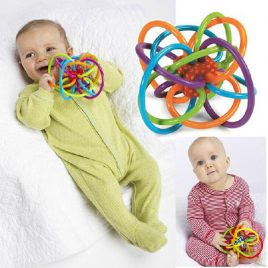 Baby Toy Rattle And Teether