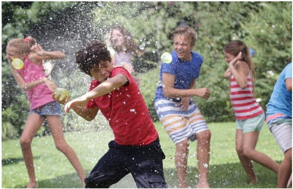 water fight