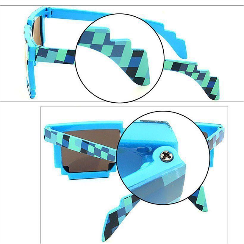 c89b0fe038a08 Minecraft Pixel Sunglasses - KidsBaron