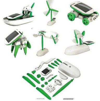 Solar Energy Powered Education Toys Diy For Kids