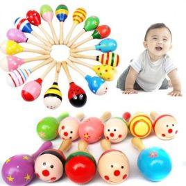 Baby Wooden Maraca Toy