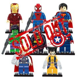 Marvel Avengers Super Hero Minifigures Set – 8pcs