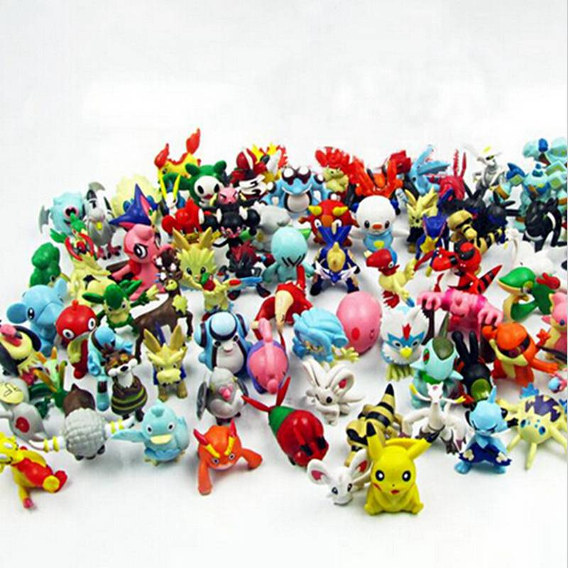 24 Random Pokemon Figures Kidsbaron Kids Family And
