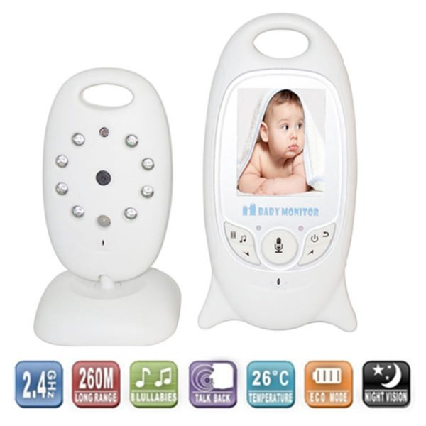 color baby monitor