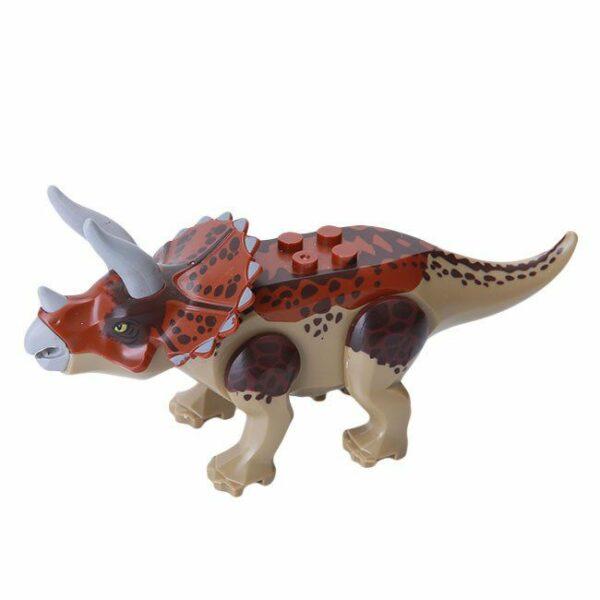 lego jurassic park dinosaur minifigures