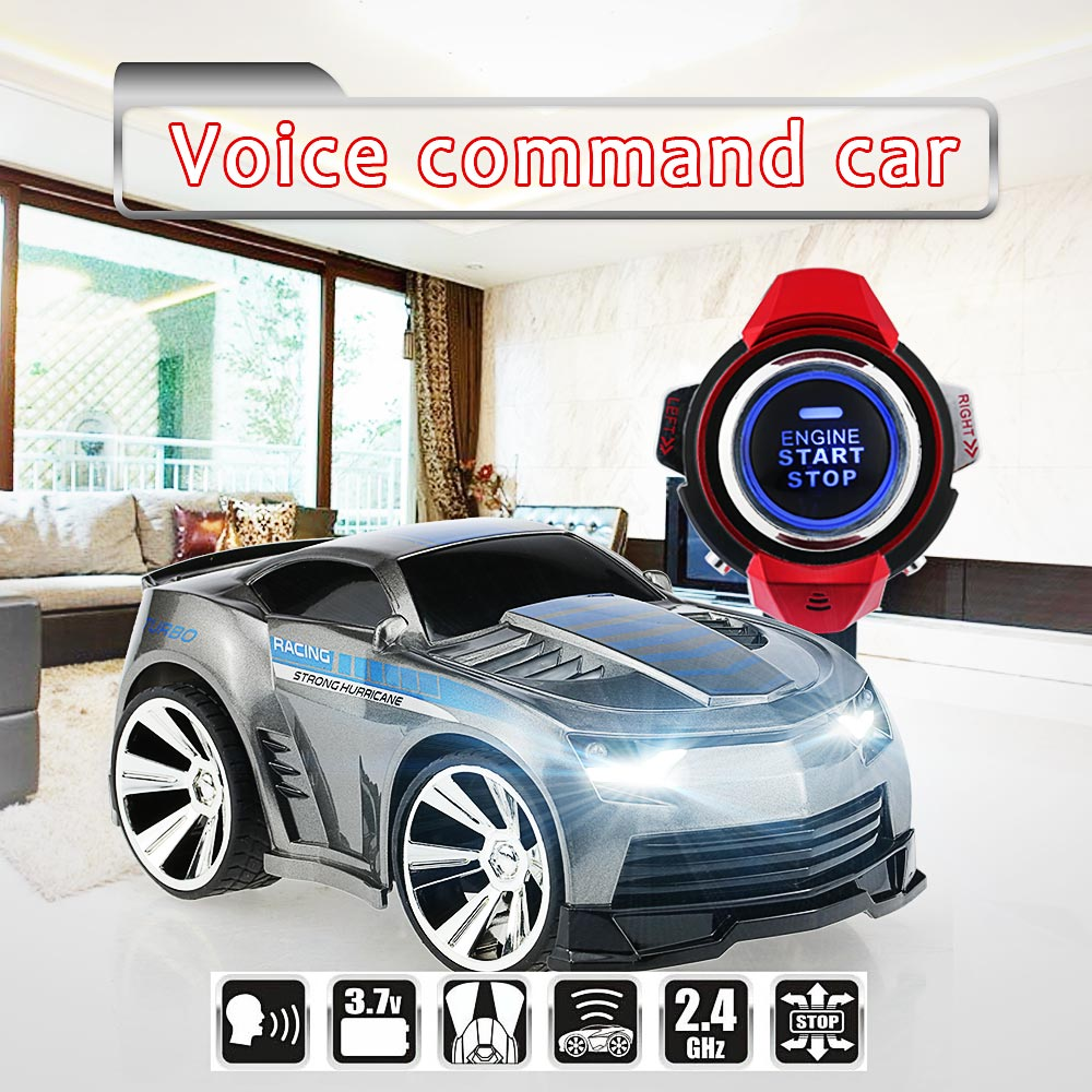 Voice Command RC Car with Smart Watch - KidsBaron