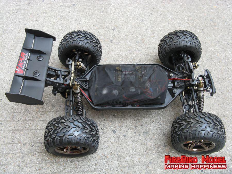 Waterproof Rc 4 Wheel Drive : Waterproof wd monster truck kidsbaron kids