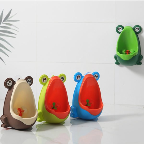 frog baby urinal potty training