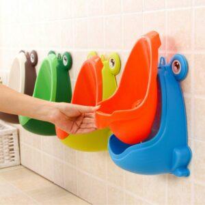 frog baby urinal potty training