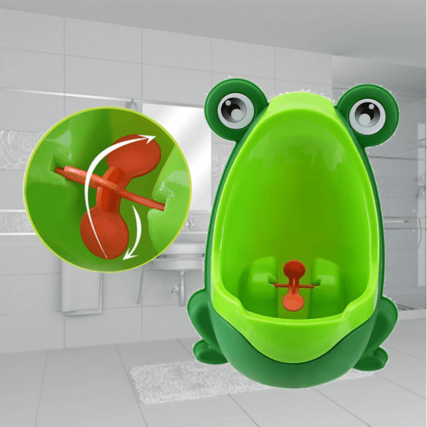 potty training baby urinal green