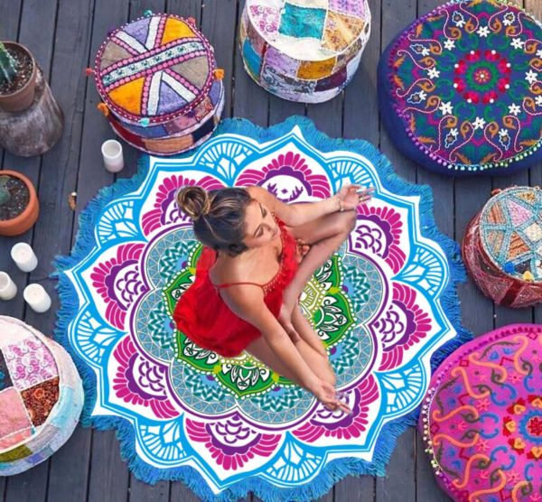 lotus flower blanket