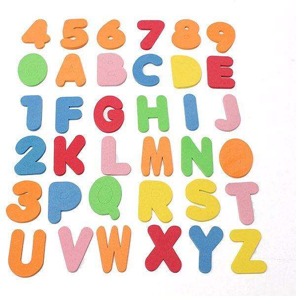 foam letters
