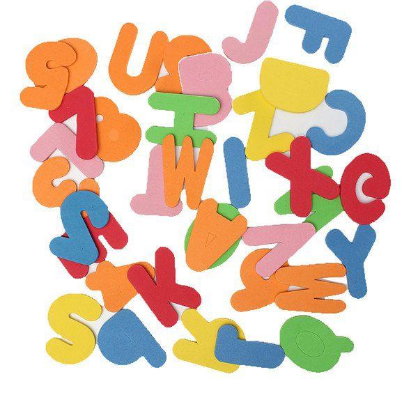 Alphanumeric Foam Letters 36pcs Kidsbaron Kids