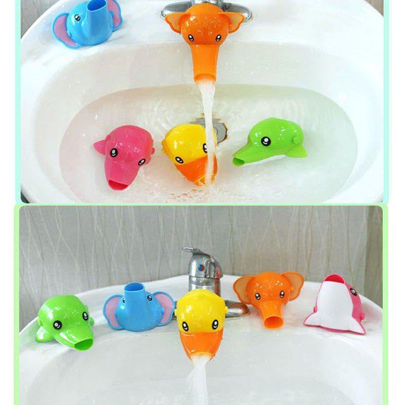 Cute Animal Faucet Extender - KidsBaron - Kids, Family and Baby Supplies