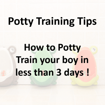 Potty Training Tips – 3 Day Strategy