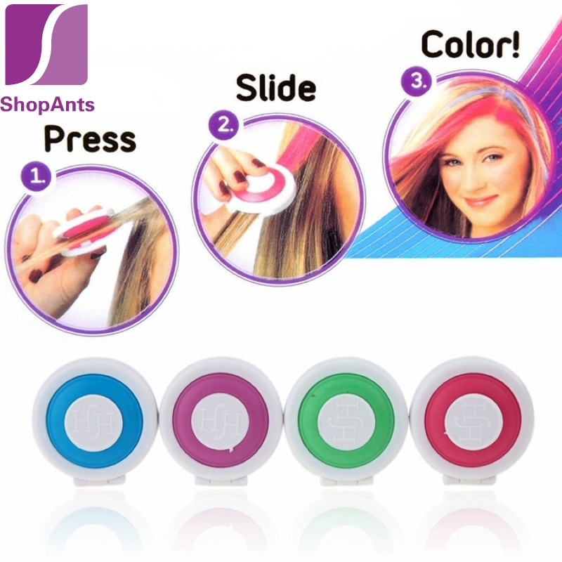 Hot Trend Easy Slide Hair Chalk Kidsbaron Kids