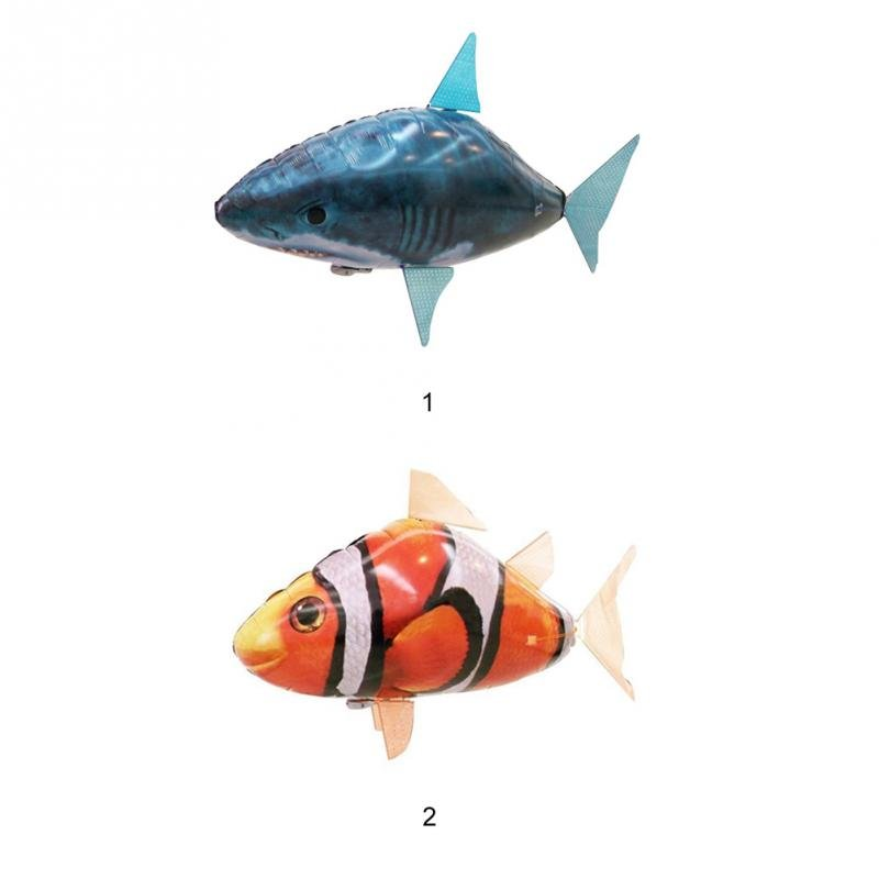 Remote control air swimmers swimming through the air for Flying fish balloon