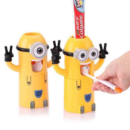 minions toothpaste dispenser