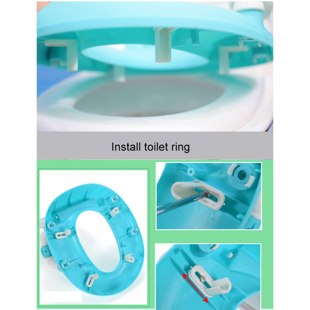 Cute Cow Potty With Toilet Ring For Optimal Training