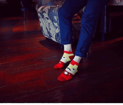iron man socks