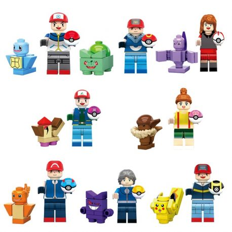 pokemon minifigures