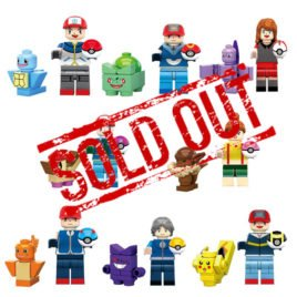 Pokemon Minifigures Set – 8 Pcs