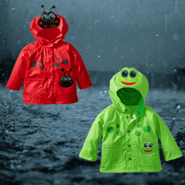 New 2017 Raincoat For Boys And Girls