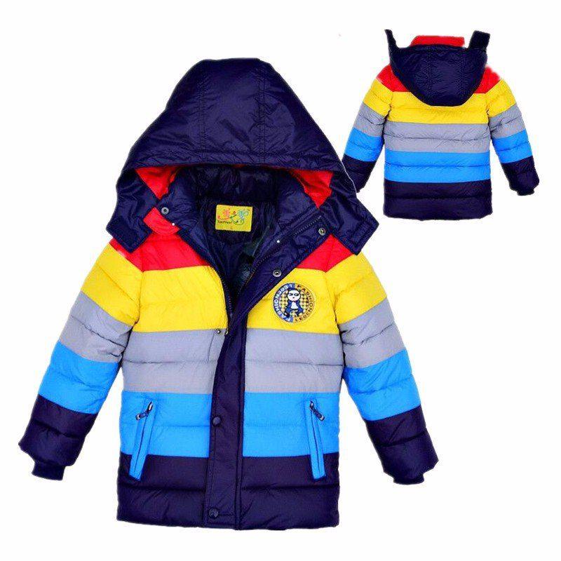New Boys And Girls Rainbow Jacket - Kidsbaron - Kids -3603