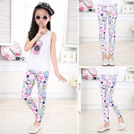 Spring/Summer Flower Leggings 2-14 Years