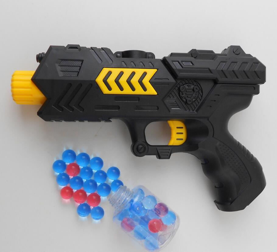 Water Ball Orbeez Balls Soft Paintball Gun Pistol Bullet Crystal Gun Nerf  Gun Building Blocks Assembled