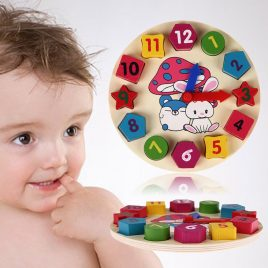 clock teaching toy