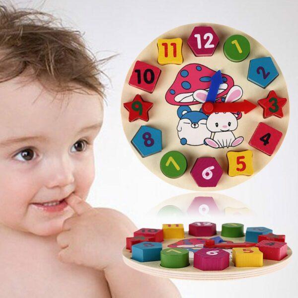 clock teaching toy