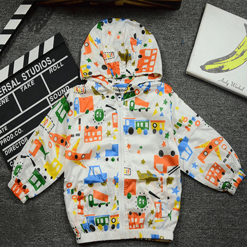 graffiti spring/summer jacket for boys