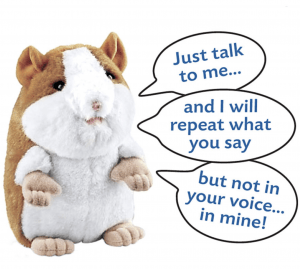 talking hamster toy chatimals