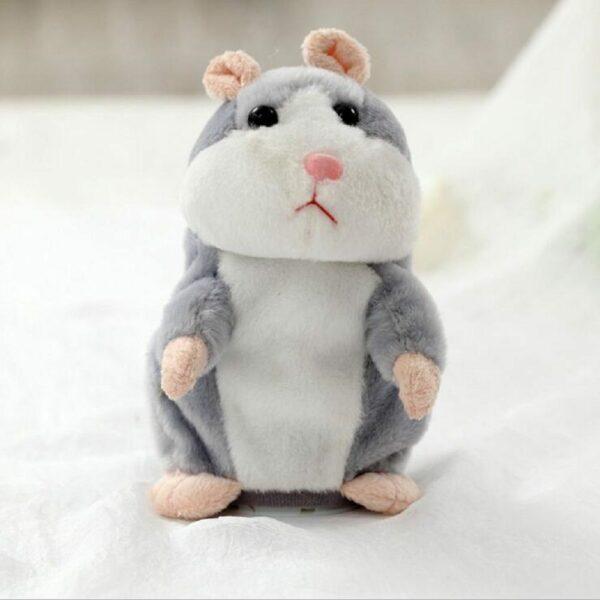 grey talking hamster chatimals