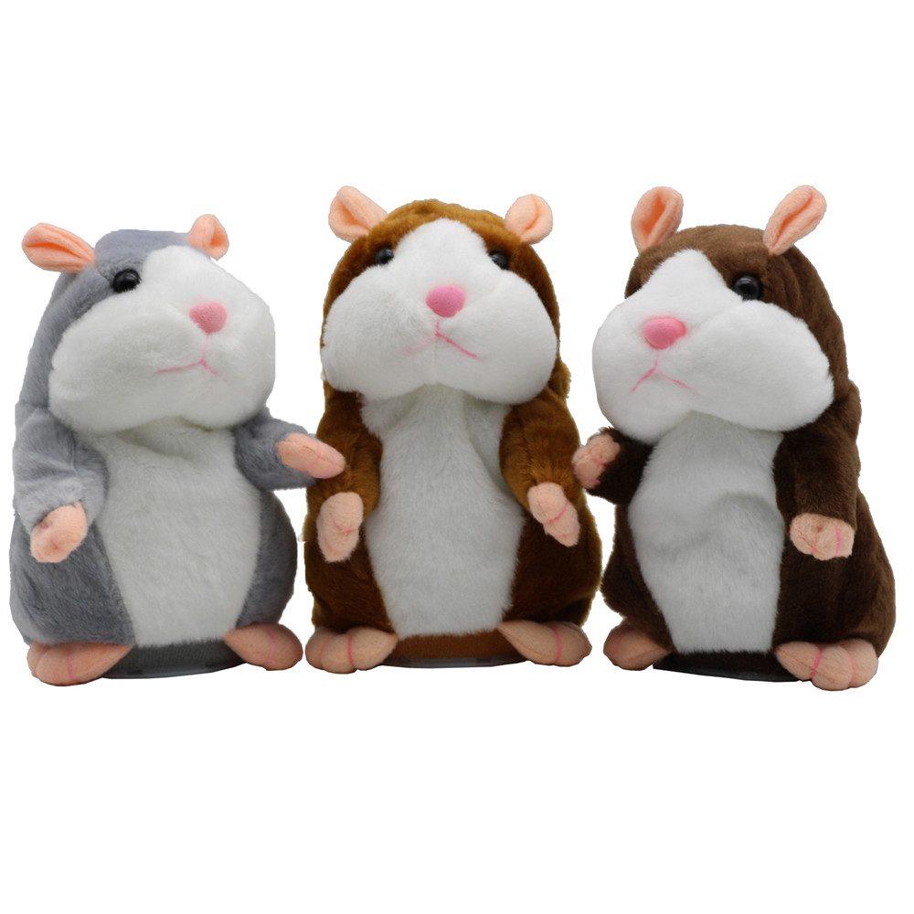 mainan lucu dan unik talking hamster