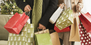 christmas shopping with kids preparation