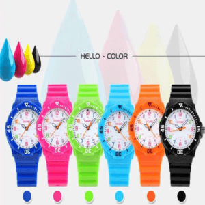 candy color kids watch
