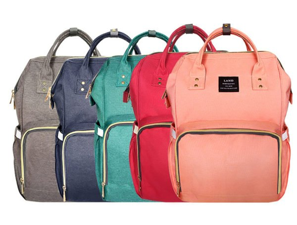 designer nappy diaper bag color range
