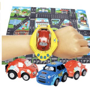 cute remote control watch gravity control cars