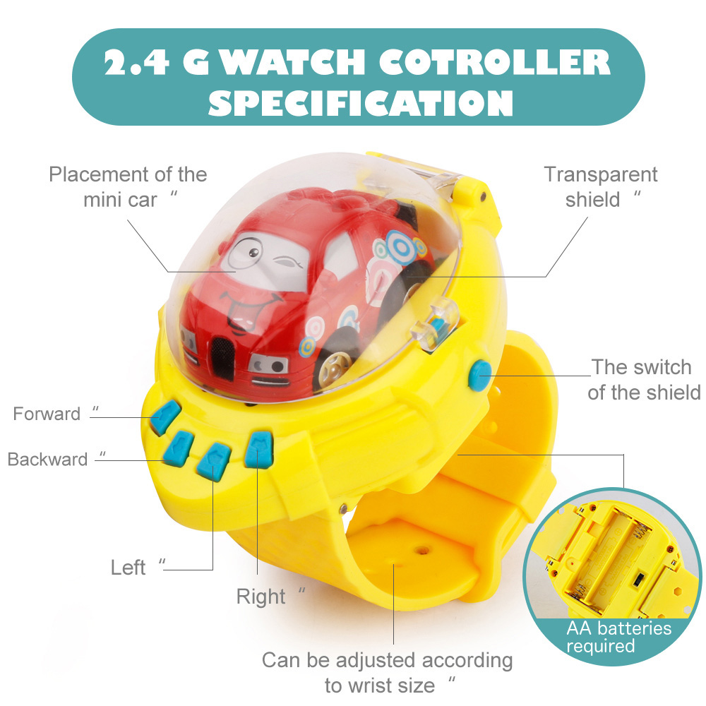 gravity sensor watch control mini cars specifications