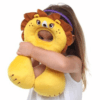animal shaped cuddly neck pillow for kids