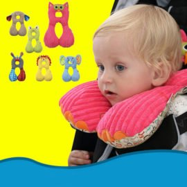 animal shaped neck pillow for kids