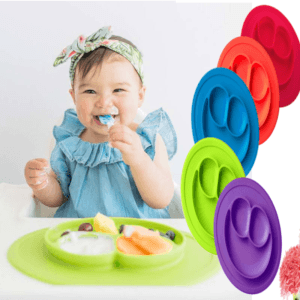 smiley mat silicone dish