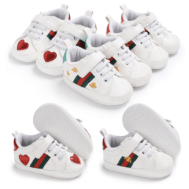 Gucci Style Baby Shoes